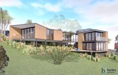 Concept for a new Bach (Beach House) located in Waihi Beach.  Home Design New Zealand. Auckland Waikato Coromandel