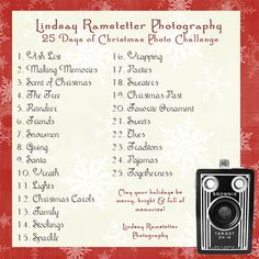 Get Into The Holiday Spirit With A Photo Challenge