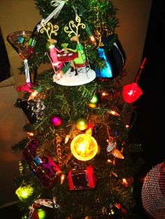 Whimisical Tree with Bubble Lights