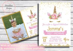 Check out our unicorn backdrops selection for the very best in unique or custom, handmade pieces from our shops. Unicorn Birthday Invitations, Unicorn Birthday Parties, 5th Birthday, Unicorn Photos, Dandelion Designs, Glitter Heat Transfer Vinyl, Unicorn Baby Shower, Beautiful Unicorn, Unicorn Face