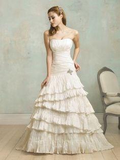 Layered Vintage Wedding Dress