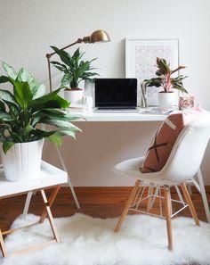 INTERIOR: Mein neues Office + 5 Tipps für ein stylisches und inspirierendes Home Office - beautyressort