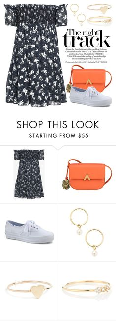 """Sneakers 5122"" by boxthoughts ❤ liked on Polyvore featuring Miu Miu, Keds, Renvy, Jennifer Meyer Jewelry and Stone Paris"