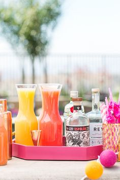 We hosted a flamingo themed pool party and it was an absolute blast! We were inspired by the darling, one footed stance birds because of their vibrant colors and just all around awesomeness! Read below for tips, ideas and inspiration to host your own flamingo themed pool party! Create a colorfulcocktail station: Talk about easy …