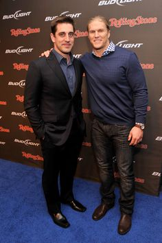 Aaron Rodgers Photos: Bud Light Hotel Brings Good Times To NOLA For Super Bowl XLVII - Rolling Stone LIVE Party    2/1/13       Clay Matthews & Aaron!
