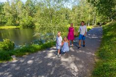 Baneheia is a recreational area in Kristiansand Southern Norway marked with trails. You can also go swimming in the fresh lake. Kristiansand, Family Destinations, Amusement Park, The Fresh, Norway, Trail, Southern, Swimming, City