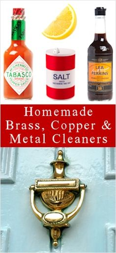 How To Clean Brass, Copper  More: DIY Methods #Cake