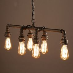 Vintage-Edison-Style-Industrial-Retro-Ceiling-Chandelier-Water-Pipe-Lamp-Light