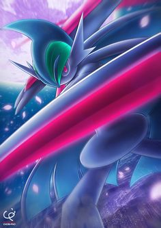 THE DARK KNIGHT - MEGA GALLADE by CHOBI-PHO.deviantart.com on @DeviantArt