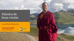 Palestra de boas-vindas de Lama Michel