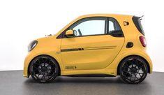 De Brabus Ultimate E blaast de Smart EQ Fortwo weg Smart Auto, Smart Car, Smart Passion, Smart Brabus, Tata Cars, Mini Cooper Sport, Personal Jet, Benz Smart, Ac Schnitzer