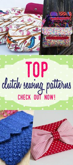 purse patterns | crochet clutch pattern | dinner clutch sewing pattern | how to sew cloth bags