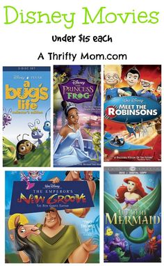 This is great deals on Disney Movies