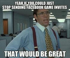 Game Invites on Facebook
