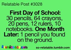 More like in the first day