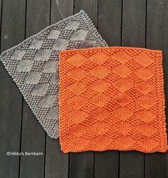 Månadens Disktrasa Oktober Greta stickad i Soft Cotton. Gratis mönster! Greta, Knit Dishcloth, Textiles, Knit Crochet, Presents, Homemade, Blanket, Knitting, Crafts