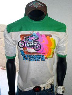 Harley-Davidson Vintage T-Shirts for Men Motocross Shirts, Biker T Shirts, Vintage Racing, Hoodies, Sweatshirts, Shirt Ideas, Harley Davidson, Going Out, Overalls