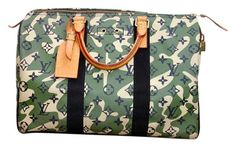Louis Vuitton Limited Edition Takashi Murakami Camo Speedy Camoflauge Satchel. Save 21% on the Louis Vuitton Limited Edition Takashi Murakami Camo Speedy Camoflauge Satchel! This satchel is a top 10 member favorite on Tradesy. See how much you can save