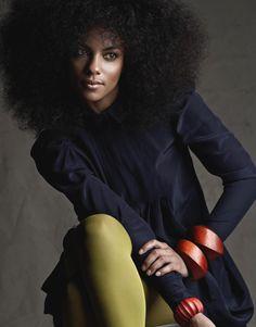 afro ~ I LOVE this whole look. Big Natural Hair, Natural Hair Styles, Natural Beauty, Au Natural, Natural Afro Hairstyles, Cool Hairstyles, Cabello Afro Natural, Big Afro, Black Hair Care