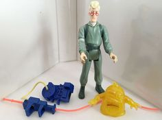 1986 EGON SPANGLIER #2 • C7-8 • 100% COMPLETE • VINTAGE THE REAL GHOSTBUSTERS #Kenner