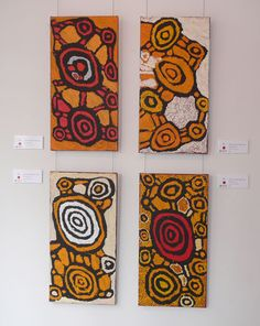 Johnny Yungut Tjupurrula solo show, 'Tjupurrulaku,' at the Papunya Tula Gallery, Alice Springs, 2013.