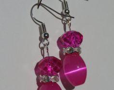 Pretty in Pink Drop Earrings
