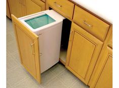 Janibell M330CW In Cabinet Trash Can Mounted Inside Of Your Cabinet, This In  Cabinet Trash