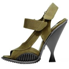 Military inspired shoes