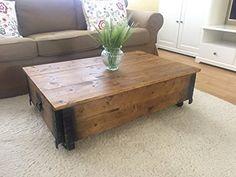 Tavolino da salotto tavolino in legno di noce shabby chic vintage