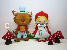 ♥♥♥ De novo o tema do Capuchinho Vermelho, para mais uma festinha de aniversário...