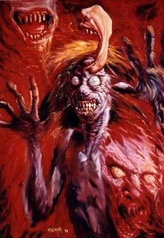 Horror photo: Creatures, monsters, horror art This photo was uploaded by jpgazza