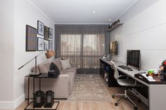 New Home Office Pequeno Funcional Ideas Vintage Apartment, Art Studio At Home, Home Garden Design, House Beds, New Home Designs, Trendy Home, Bars For Home, House Colors, Home Remodeling