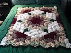 Ravelry: Desert Star / Prairie Star Throw pattern by Marilyn Coleman and Mary Jane Protus
