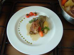Petto  di vitello brasato con verdure  Gino D'Aquino