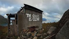 The book Street Messages by artist and photographer Nicholas Ganz documents street-art slogans worldwide, from Norway to Guatemala City Art Slogans, Norway Travel, Out To Sea, This Is A Book, Lofoten, Street Art Graffiti, Street Artists, Banksy, Public Art