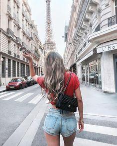 "10k Likes, 66 Comments -  Kerina Mango (@mangorabbitrabbit) on Instagram: ""Getting lost in Paris and wearing my hubby's T-shirt #kerinatravels"""