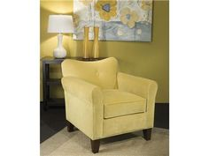 Shop for Marshfield Furniture Poppy Chair, 2475-01, and other Living Room Chairs at Penny Mustard in Milwaukee, Wisconsin. Hand crafted in America in hundreds of fabric selections to insure a designer look yet built to withstand the modern family.