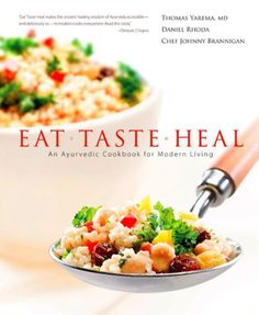 Eat Taste Heal is the best book on ayurveda I have seen so far...it helps you adjust recipes for all dosha types... http://www.shivohamyoga.nl/ #health #food #ayurvedic