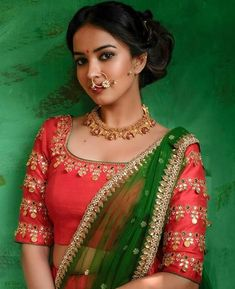 Saree Blouse Designs become your top priority, Let your ethnic wardrobe go glam by adding some of the latest embellished blouse designs and patterns.