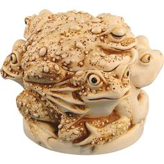 Harmony Kingdom Toads Rather Large Huddle Treasure Jest Box