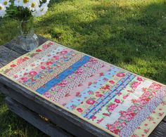Tutti Frutti Quilted Table Runner. $22.00, via Etsy.