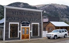 The General Store re-opens every summer and sells a variety of goods to visiting tourists.