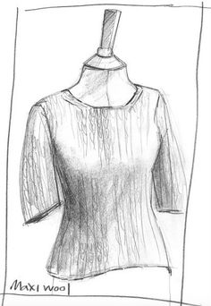 Erika Knight Maxi Wool Simple Short Sleeve Sweater Project 13 Pattern PDF
