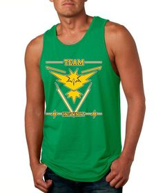 0840d91d00d8f3 Cool Men s Tank Top With The Print Of Team Instinct. Cool Colors And All  Sizes
