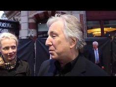 Alan Rickman interview at the BFI London Film Festival -
