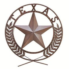 Plaques and Signs 31587: Texas Star Wall Plaque Home Decor~~38595 -> BUY IT NOW ONLY: $33.37 on eBay!