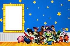 Toy Story Free Printable Invitations.