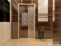 House Main Door Design, Home Door Design, Bedroom Door Design, Door Design Interior, Foyer Design, Bed Design, Interior Ideas, Modern Entrance Door, Main Entrance Door Design