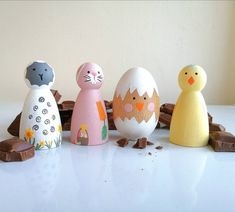 Nativity Peg Doll, Wood Peg Dolls, Clothespin Dolls, Doll Crafts, Diy Doll, Fish Crafts, Spring Theme, Felt Christmas, Doll Set