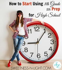 How to Start Using 8th Grade as Prep for High School - Meredith Henning
